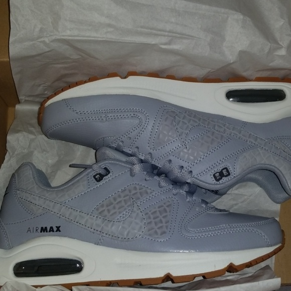 Neu Nike Air Max Command Premium W shoes blue beige spare